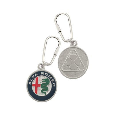Badge Key Chain