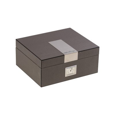 Carbon Fiber Wood Cigar Humidor