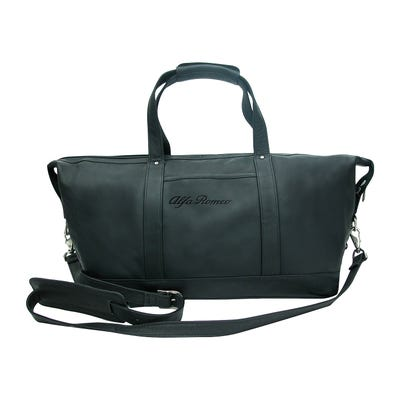 Leather Carry On Duffel