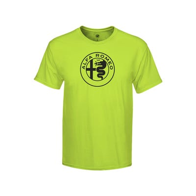 Men's Electric Green T-shirt