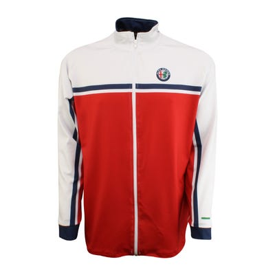 Men's Race Inspired Full Zip Track Jacket