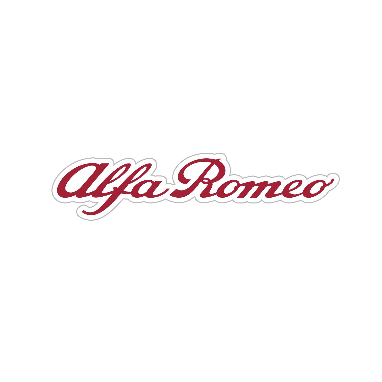 Alfa Romeo Script Decal