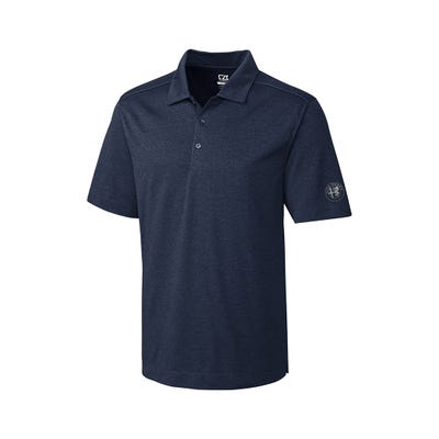 Men's Navy Heather Polo