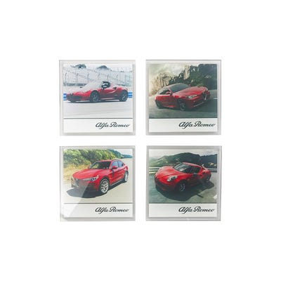 Pack of 4 Glass Coasters